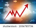 business success concept. red...   Shutterstock . vector #1036785736
