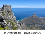south africa  cape town  table... | Shutterstock . vector #1036830403