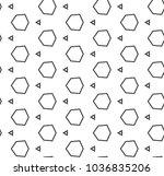 seamless geometric ornamental...   Shutterstock .eps vector #1036835206