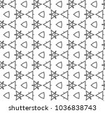 seamless vector pattern in... | Shutterstock .eps vector #1036838743