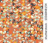 midcentury geometric retro... | Shutterstock .eps vector #1036848154