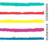 vector striped summer pattern.... | Shutterstock .eps vector #1036856644