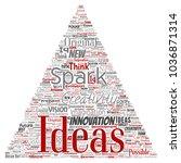 vector conceptual creative idea ... | Shutterstock .eps vector #1036871314