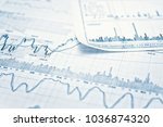 showing business and financial... | Shutterstock . vector #1036874320