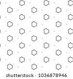 seamless vector pattern in... | Shutterstock .eps vector #1036878946