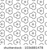 seamless vector pattern in... | Shutterstock .eps vector #1036881478