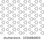 seamless vector pattern in... | Shutterstock .eps vector #1036886803