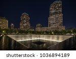 9 11 memorial shot at night...