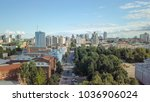 panoramic view of the city of... | Shutterstock . vector #1036906024