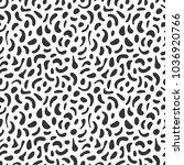 memphis geometric seamless... | Shutterstock .eps vector #1036920766