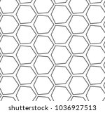 seamless vector pattern in... | Shutterstock .eps vector #1036927513