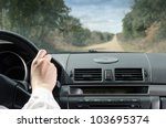 Driving On Straight Road....