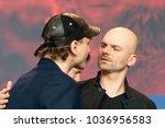 berlin  germany   february 23 ...   Shutterstock . vector #1036956583
