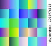 gradient blurred background set.... | Shutterstock .eps vector #1036976518