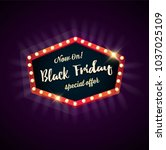 black friday sale    Shutterstock .eps vector #1037025109