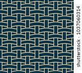 basket weave seamless pattern.... | Shutterstock .eps vector #1037060314