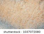 details of sand stone texture | Shutterstock . vector #1037072080