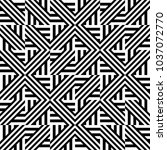 seamless pattern with black... | Shutterstock .eps vector #1037072770