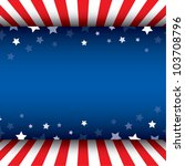 stars decorative frame | Shutterstock .eps vector #103708796
