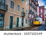 lisbon  portugal   january 28 ... | Shutterstock . vector #1037102149