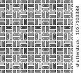 seamless pattern with parquet... | Shutterstock .eps vector #1037103388