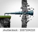 search breakthrough and... | Shutterstock . vector #1037104210