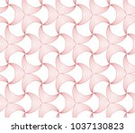 abstract geometric vector... | Shutterstock .eps vector #1037130823