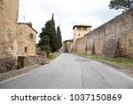 view of the old village of... | Shutterstock . vector #1037150869