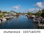view of the intercoastal...   Shutterstock . vector #1037160193
