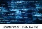 3d illustration of working... | Shutterstock . vector #1037162659