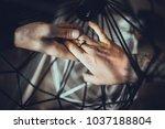loft grange lifestyle lamps | Shutterstock . vector #1037188804