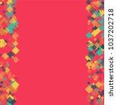 rhombus backdrop minimal... | Shutterstock .eps vector #1037202718