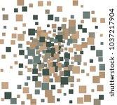 geometric confetti vector... | Shutterstock .eps vector #1037217904