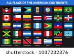 flags of all countries of the... | Shutterstock .eps vector #1037232376