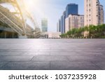 empty town square tianjin china ... | Shutterstock . vector #1037235928