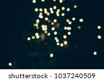 fireworks at new year and copy... | Shutterstock . vector #1037240509