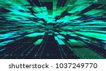 abstract technology background... | Shutterstock . vector #1037249770