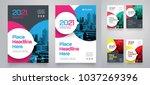 city background business book... | Shutterstock .eps vector #1037269396
