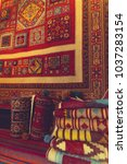 interior display of persian  ...   Shutterstock . vector #1037283154