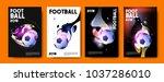 football 2018 world... | Shutterstock .eps vector #1037286010