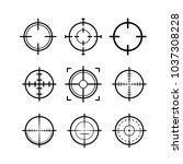 target icon vector | Shutterstock .eps vector #1037308228