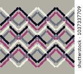 seamless geometric pattern.... | Shutterstock .eps vector #1037337709