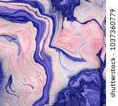 abstract texture. acrylic... | Shutterstock . vector #1037360779