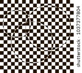 optical illusion  black and...   Shutterstock .eps vector #1037377804