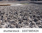 Close Up Of Badwater Basin. It...