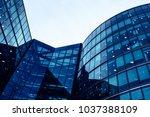 skyscraper business office ... | Shutterstock . vector #1037388109