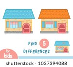 find differences  education... | Shutterstock .eps vector #1037394088