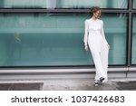 milan  italy   february 24 ... | Shutterstock . vector #1037426683