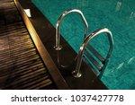 romantic evening mood lighting...   Shutterstock . vector #1037427778