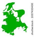 map of ruegen | Shutterstock .eps vector #1037433430